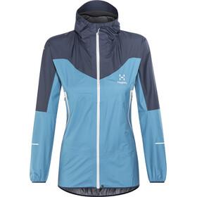 Haglöfs L.I.M Comp Jacket Dame blue fox/tarn blue